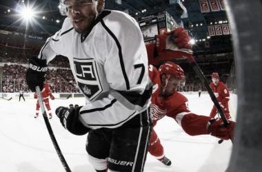 Jogando em casa, Detroit Red Wings massacra o Los Angeles Kings
