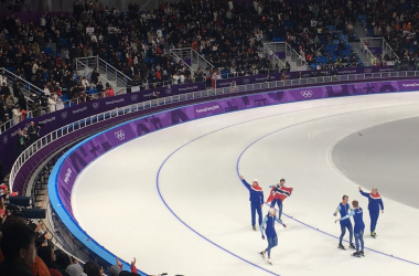 PyeongChang 2018 - Speed Skating staffetta: oro a Giappone femminile e Norvegia maschile