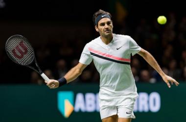 Federer - Fonte: @abnamrowtt/ Twitter.