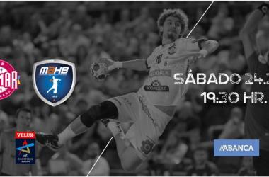 ABANCA Ademar León vs Montpeliier HB en vivo y en directo online. Foto: Ademar León.
