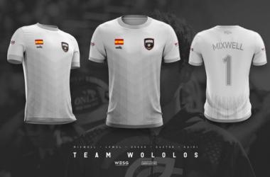 La equipación del equipo de wololos. Fuente: Twitter de Wololos
