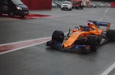 Formula 1 - Test Barcellona, Day 3: la neve rovina i piani; Alonso in testa | Twitter Circuit Catalunya Montmelò