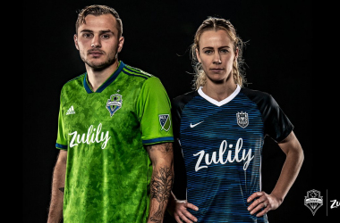 Zulily becomes the offcial jersey sponsor for Seattle Sounders FC and Seattle Reign FC