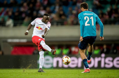 Europa League: a Bruma e Werner risponde una perla di Criscito. Lipsia-Zenit finisce 2-1