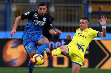 Serie A - L'Empoli rimonta il Chievo: 2-2 al Castellani