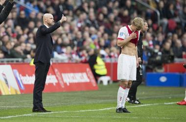 Source photo: profilo Twitter AFC Ajax