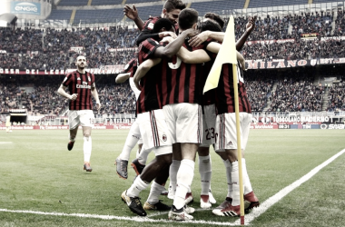 El Milan sigue dando caza a la Champions League