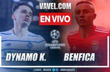 Resumen: Dinamo de Kiev 0-0 Benfica en la fecha 1 por Champions League 2021-22