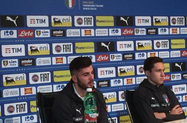 """Cutrone e Chiesa, la bella gioventù: """"Per noi il lavoro paga. Messi? Roba da PlayStation"""" - Twitter Nazionale Italiana"""