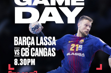 Resumen Barcelona Lassa vs Frigoríficos Morrazo en Liga Loterías Asobal 2017/2018 (36-21)