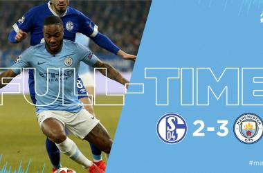 Champions League - Il City in dieci soffre ma vince 3-2 contro lo Schalke