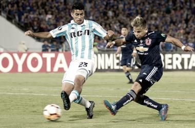 Racing e Universidad de Chile desperdiçam muitas chances e ficam no empate na Libertadores
