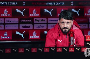 Milan - Empoli: la conferenza di Gattuso ed i convocati rossoneri