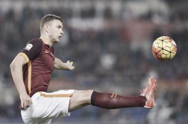 Feliz na Roma, Dzeko revela que Mancini tentou levá-lo para a Internazionale