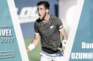 Anuario VAVEL 2017. Damir Dzumhur: seguir haciendo historia para el tenis bosnio