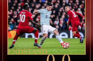 Champions League- Vince lo spettacolo, ma non i gol: finisce 0-0 tra Liverpool e Bayern