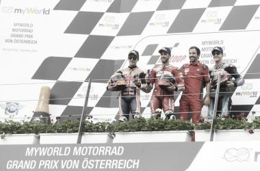 podio de el Gran Premio de Austria 2019./Foto: motogp.com