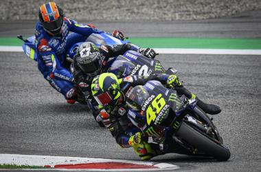Valentino Rossi en el GP de Austria/ Foto: MotoGP