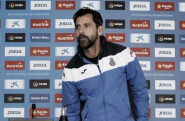 """Quique Sánchez Flores: """"El Leganés es un equipo que trabaja duro y trabaja bien"""""""