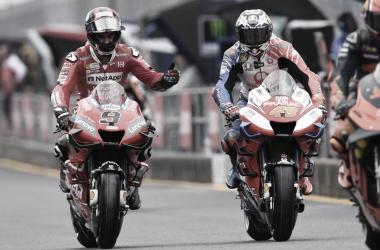 Danillo Petrucci en el PitLane de Japón / Foto: MotoGP