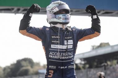 Ricciardo festeja el triunfo | Foto: Fórmula 1