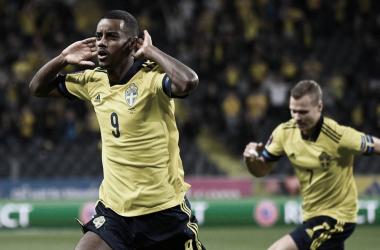 Suecia venció 2-1 a España en Estocolmo por la cuarta jornada del grupo B| Fotografía: UEFA