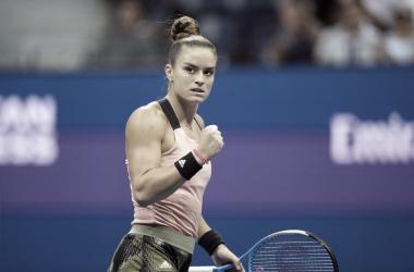 Sakkari derrota Pliskova nas quartas e fica a um passo da final no US Open