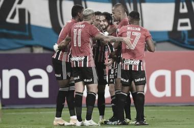 Melhores momentos Racing x São Paulo pela Libertadores (0-0)