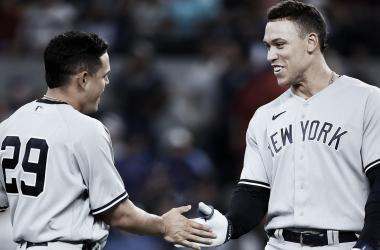 Gio Urshela sigue con el bate caliente, llegó a siete cuadrangulares en la temporada Foto: Yankees Twitter