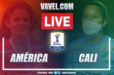 Resumen América vs Cali por Liga BetPlay Femenina (2-0)