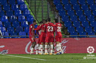 Getafe - Granada CF : puntuaciones del Granada, jornada 7 de LaLiga