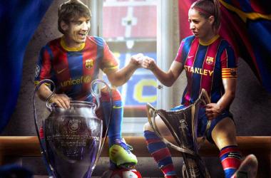 Imagen utilizada por el Fútbol Club Barcelona en su cuenta de Twitter para dar a conocer la noticia | @FCBfemeni en Twitter