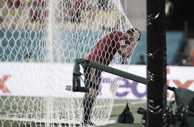 Koke se lamenta por una ocasión fallada / FOTO: Selección Española