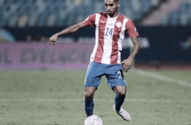 SOÑADO. David Martínez y un debut soñado con los colores de Paraguay en la Copa América. Foto: Web