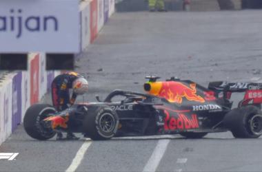 F1 GP Azerbaigian, gara pazza: Verstappen a muro, Hamilton sbaglia, vince Perez