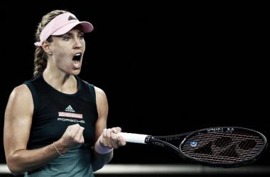 Angie passou o aniversário em quadra e se deu o melhor presente possível: uma vaga nas oitavas do Australian Open (Foto: Divulgação/WTA)