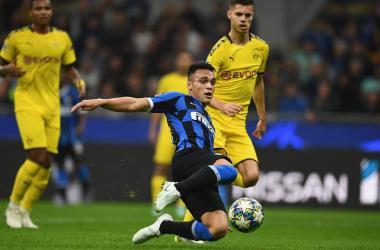 Champions League- Lautaro e Candreva abbattono il Borussia Dortmund, Inter al secondo posto (2-0)