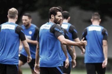 """Sampdoria se acerta com Candreva e aguarda """"ok"""" da Internazionale"""