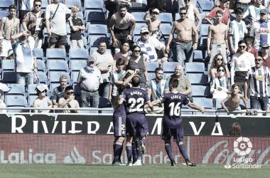 El Real Valladolid supera a un Espanyol en horas bajas
