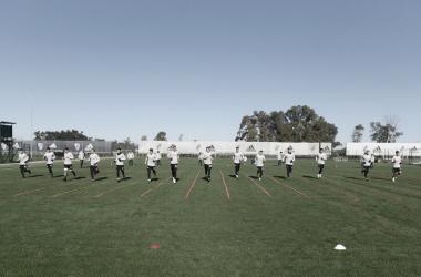 CALENTANDO MOTORES. River seguirá con su preparación en Estados Unidos. Foto: Prensa River Plate