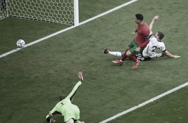 Auténtico partidazo entre Portugal y Alemania en Múnich | Fotografía: UEFA