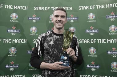 Gosens, mejor jugador del partido. /Twitter: Selección Alemana oficial