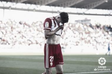 Darwin Núñez(20) no tuvo su día./ La Liga