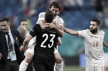 Suiza 1-1 España: 'La Roja' dice 'sí' a Londres