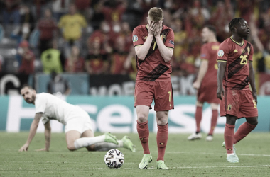 Bélgica - Italia: puntuaciones de Bélgica en los Cuartos de final de la Eurocopa 2020