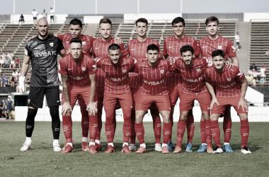 Once del Sevilla FC en el encuentro ante la UDLP | Foto: SevillaFC