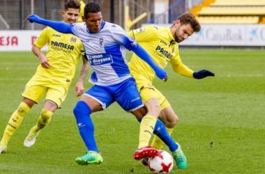 El Alcoyano acaba con la racha de imbatibilidad del Villarreal B