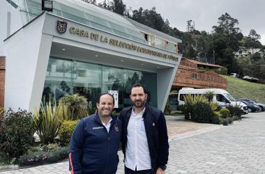 Foto: Twitter (Severiano García, lado derecho)