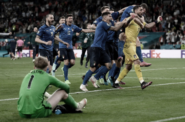 Italia - Inglaterra: puntuaciones Italia en la Final de la Eurocopa 2020