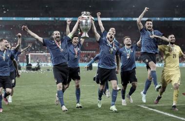 Italia celebra su segunda Eurocopa / FOTO: UEFA